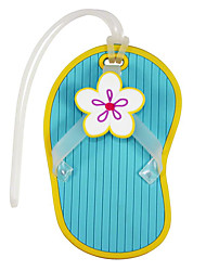 Flip Flop Rubber Luggage Tag Favor