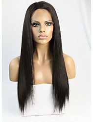 Silk Straight Silk Top 4*5 Inch Full Lace Wig
