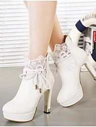 Women's Boots Comfort PU Casual Platform