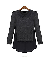 2013 Hitz female long-sleeved sweater mess jacket fashion sweater European and American big