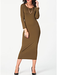 Burst models in Europe and America's foreign trade body decoration dress wild solid color rendering dress necklace free