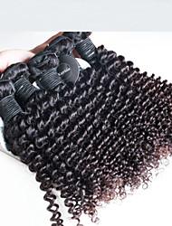 3 шт / много Малайзии глубоко волосы вьющиеся волнистые, высшего качества Малайзии человеческих волос