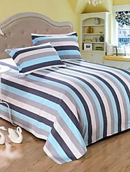 Satz von 4 Stück Baumwolle Bettwäsche Quilt 170 * 220 Bett Blatt 150 * 230 Kissenbezug * 2