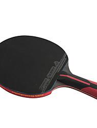 6 Stars Table Tennis Rackets Ping Pang Carbon Fiber Long Handle Pimples 1 Racket 1 Table Tennis BagOutdoor Performance Practise Leisure