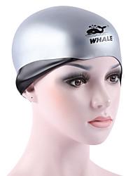 Swim Caps Unisex silicone Pink Red Blue White
