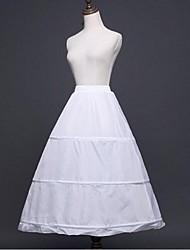 Déshabillés Robe trapèze Robe de soirée longue Mollet 1 Polyester Blanc Noir