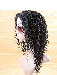 Brazilian Hair Wigs for Black Women, 100 Human Hair Lace Front Wigs, Malaysian Curly Full Lace Wigs