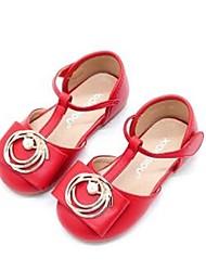 Girls' Sandals Comfort PU Casual Flat Heel