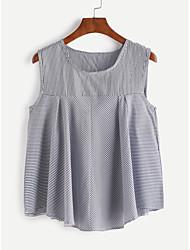 Camisa nova listrada da veste dos aliexpress de ebay