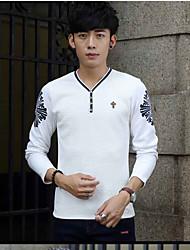 Europäisches Bein von long-sleeved T-Shirt Männer Herbst Gezeiten Männer qiuyi äußere Abnutzung Jacke dünn 2016 Männer&# 39; s
