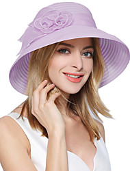Spring and summer sun hat children flowers organza sun hat Ms sun hat dome edge eaves beach hat