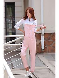 Модель реальный выстрел в весной 2017 года корейской версии тонкой части уличных хип-хоп свободные шаровары комбинезон случайных брюки