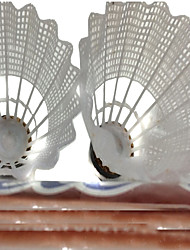 12 × 2 Badminton Volants Etanche Durable Stabilité pour Nylon Autre
