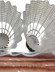 12×2 Badminton Shuttlecocks Wearproof Durable Stability for Nylon Other