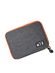 Travel Passport Holder & ID Holder Earphone Holder / Cable Winder Travel Storage Portable Fabric Nylon