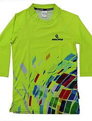Femme Tee-shirt de Course Manches Courtes Séchage rapide Design Anatomique Résistant aux ultraviolets Respirable Tee-shirt Chemise Shirt