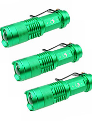 UKing ZQ-X965GX3 1500LM Cree XPE SK68 Zoomable Flashlight