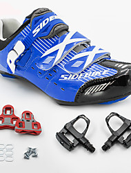 BOODUN/SIDEBIKE® Кеды Обувь для шоссейного велосипеда Обувь для велоспорта Велообувь с педалями и шипами УниверсальныеАмортизация