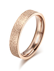 Ring Circle Steel Round Golden Jewelry For Daily 1pc