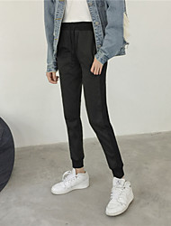 Sign 2016 Fall Winter harem pants feet was thin loose casual trousers student Wei pants pants