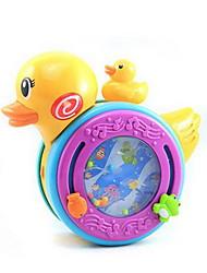 Brinquedo Educativo Pato Modelo e Blocos de Construção