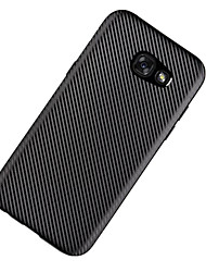 For Samsung A5(2017) A7(2017) Cover Case Ultra-Thin Back Cover Case Solid Color Soft TPU A3(2017) A7(2016) A5(2016) A3(2016) A7 A5 A3