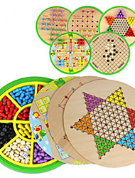 Board Game Circular Wood