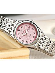 WWOOR Women's Fashion Watch Wrist watch Japanese Quartz Japanese Quartz Calendar Alloy Band Charm White