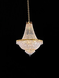 Chandelier ,  Traditional/Classic Electroplated Feature for Crystal Mini Style Metal Living Room Dining Room Hallway 9 Bulbs