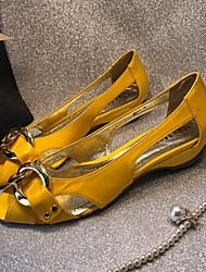 Women's Loafers & Slip-Ons Summer Comfort Cowhide Casual Low Heel