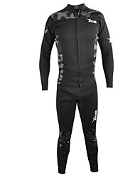 Sports Men's 2mm Full Wetsuit Breathable Thermal / Warm Quick Dry Rubber Diving Suit Long Sleeve Diving Suits-Diving Fall/Autumn Winter