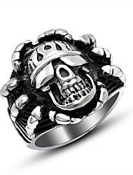 Кольцо Хип-хоп Позолота Геометрической формы Серебряный Бижутерия Для Повседневные 1шт