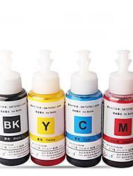 Cartuchos de tinta me33 70mla pacote de 5 caixas para epson cada caixa cores diferentes: preto, vermelho, amarelo, ciano