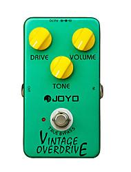 Joyo JF-01 Vintage Overdrive Guitar Effect Pedal True Bypass Green