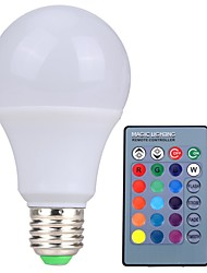 RGB LED Lamp E27 10W  LED RGB Light Lampada LED Bulb 85-265V SMD5050 16 Colors Change with IR Remote Controller