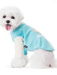 Hund Pullover Hundekleidung Niedlich Lässig/Alltäglich Kartoon Hellblau