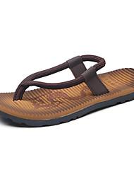 Men's Slippers & Flip-Flops Spring Summer Comfort Light Soles Customized Materials Outdoor Casual Flat Heel Walking Shoes