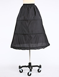 Slips Ball Gown Slip Knee-Length 1 Taffeta White Black Red