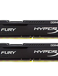 Kingston RAM 32GB Kit (16 Go * 2) DDR4 2400MHz Mémoire de bureau HX424C15FBK2/32 PNP