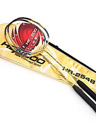 Badminton Rackets Durable Aluminum Alloy Carbon 1 Piece for