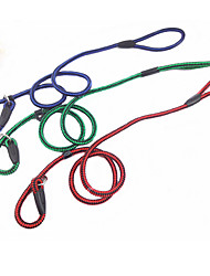 Chien Colliers Anti-aboiement Solide Rouge / Vert / Bleu Tissu