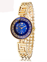 Women's Dress Watch Chinese Quartz Alloy Band Casual Gold