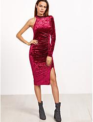 2017 aliexpress amazon souhaite la nouvelle robe de velours en or de commerce extérieur