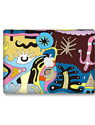 For MacBook Air 11 13/Pro13 15/Pro with Retina13 15/MacBook12 Cartoon Decorative Skin Sticker Glow in The Dark