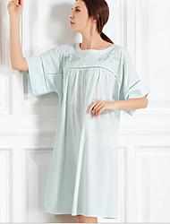 Damen Babydoll & slips Nachtwäsche,SpitzeBaumwolle Mittelmäßig Damen