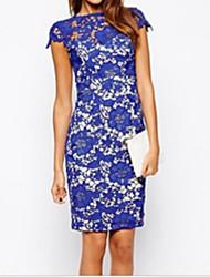 aliexpress de moda de vendas vestido de renda frente