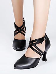 Zapatos de baileLatino-Personalizables-Tacón Cuadrado