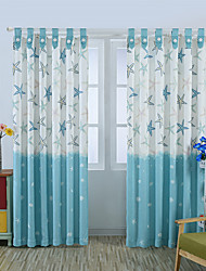 One Panel Curtain Neoclassical European Living Room Linen Material Curtains Drapes Home Decoration For Window