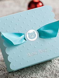 12 Piece/Set Favor Holder-Cubic Card Paper Gift Boxes Personalized