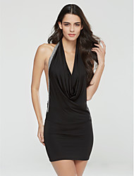 Sexy Pacote Nádegas Vestido das mulheres